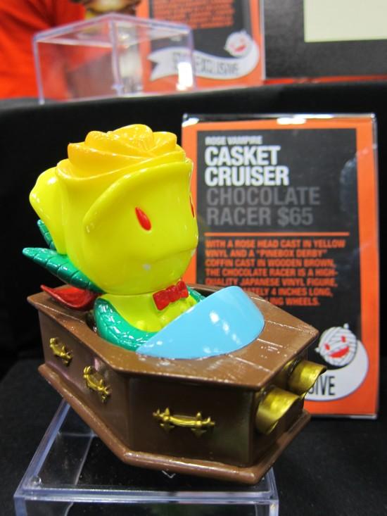 Rose Vampire Casket Cruiser by Joshua Herbolsheimer