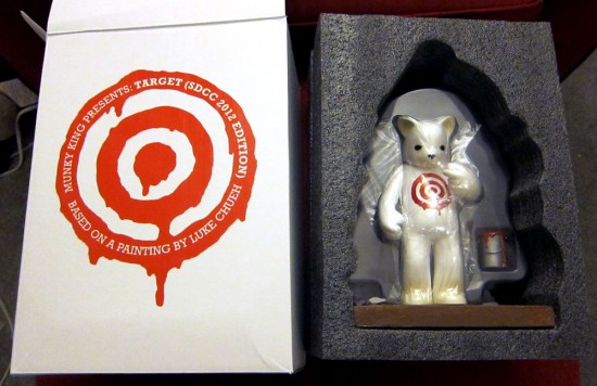 Target Bear by Luke Chueh