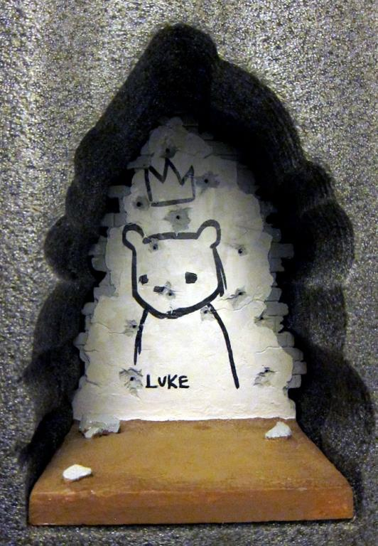 Luke Chueh And Target Bear At Comic Con 2012