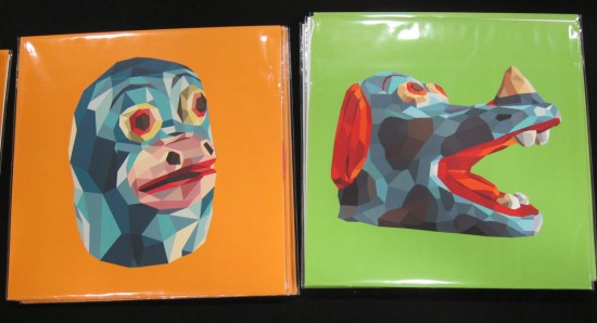 Tim Biskup record covers