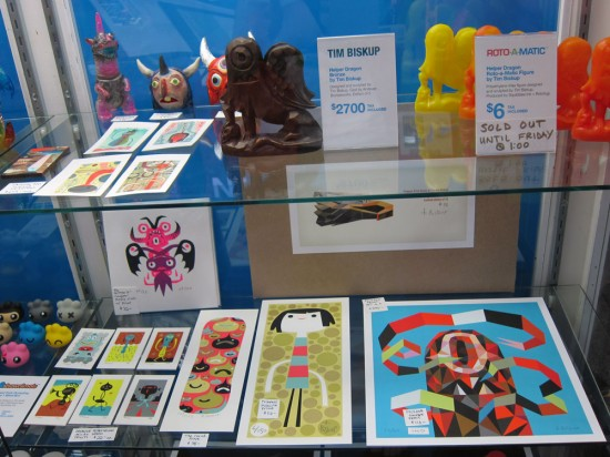 Tim Biskup stuff at Rotofugi