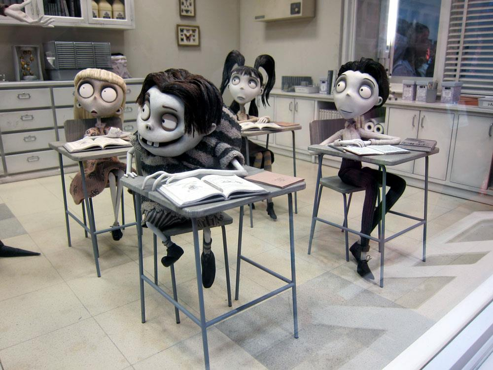Up Close With The Characters Of Tim Burton S Frankenweenie