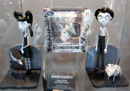Tim Burton's Frankenweenie: sets, props and merch