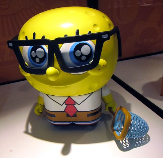 UNKL x Spongebob Squarepants vinyl toys