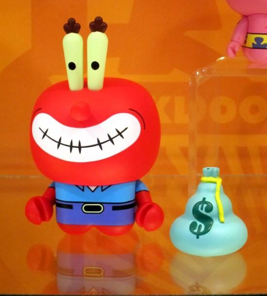 UNKL x Spongebob Squarepants vinyl toys