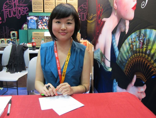 Audrey Kawasaki at SDCC 2012