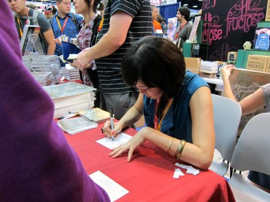 Audrey Kawasaki at SDCC 2012