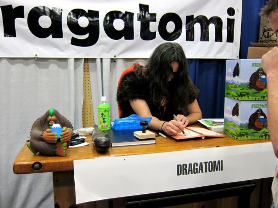 Bigfoot at Dragatomi, Comic-Con 2012