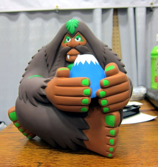 Bigfoot Fujisan in vinyl