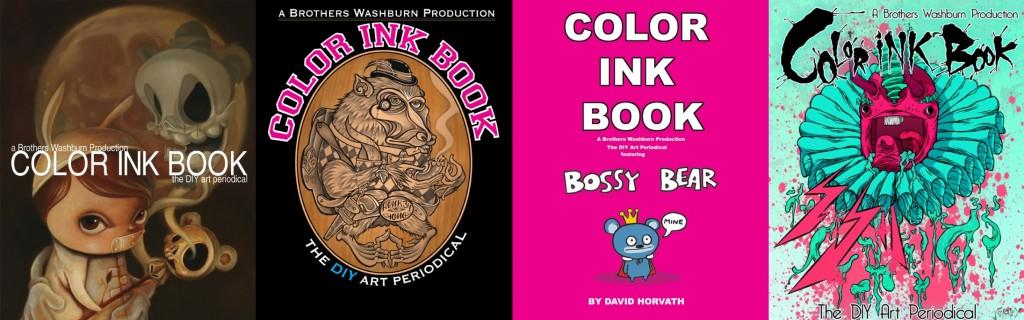 Color Ink Book for SDCC 2012