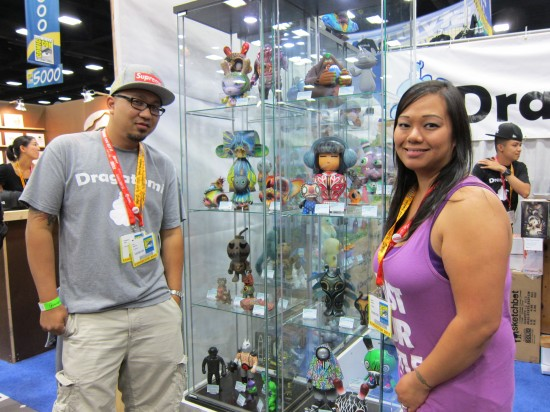Ray and Joanne of Dragatomi at Comic-Con 2012
