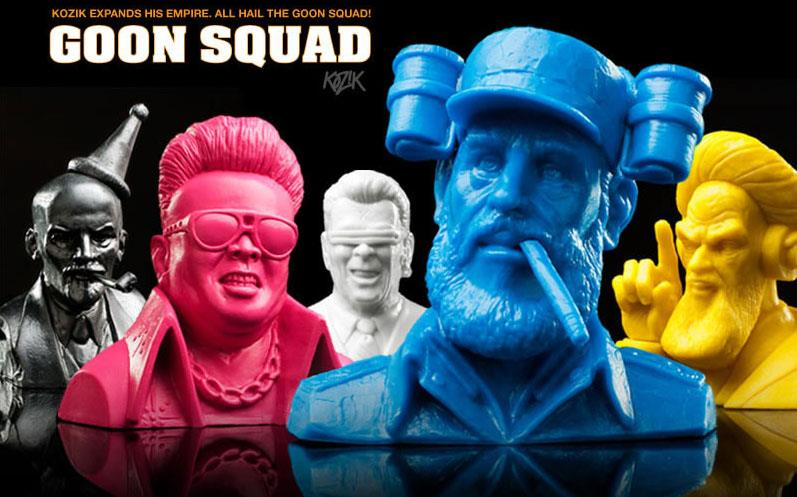 Frank Kozik's Goon Squad