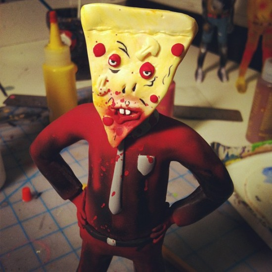 Pizza Victim Resins by Steven Erst x Monstrehero