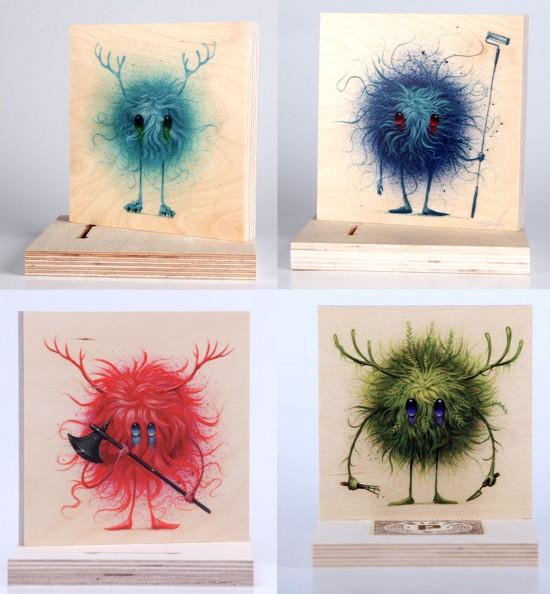 Seeker Friends Prints on Wood