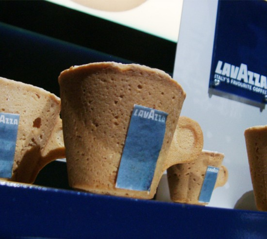Edible Coffee Cup by Enrique Luis Sardi x Lavazza