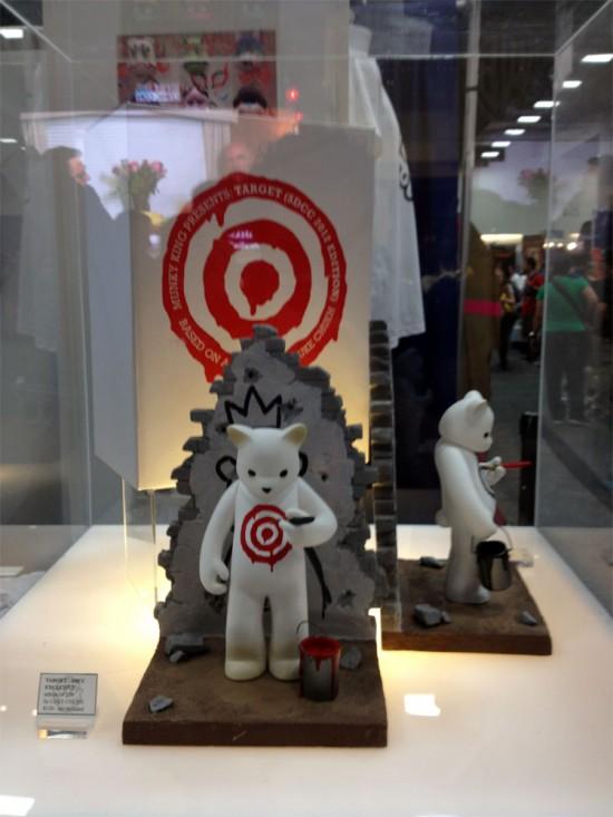 Target Bear designer toy