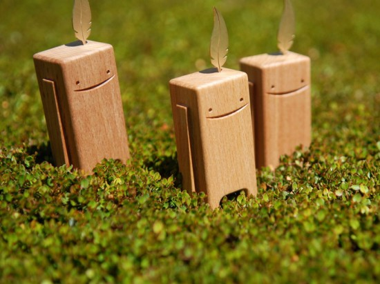 Peaceful BEECHBLOCKS wooden toys by Pepe Hiller