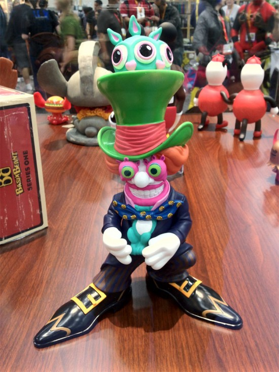 Mad Hatter (black - Bait SDCC exclusive) by Ron English