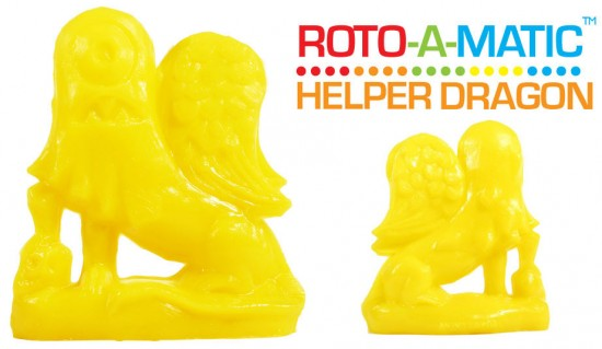 Roto-a-Matic Helper Dragon by Tim Biskup x Rotofugi