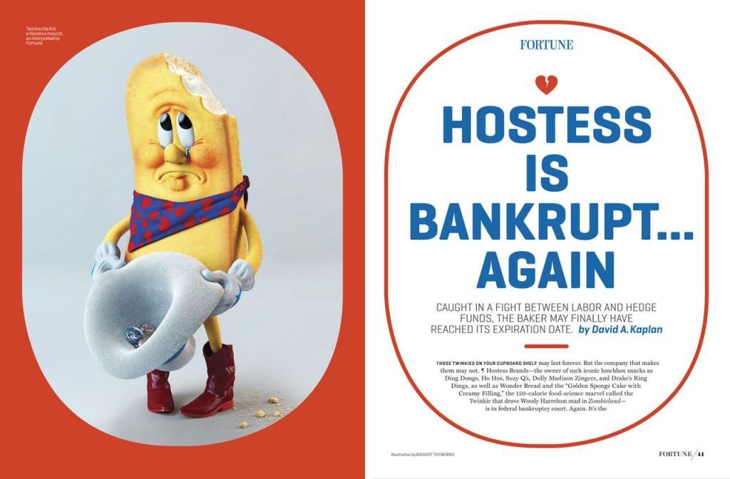 Twinkie illustration by Bigshot Toyworks