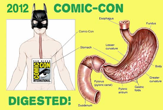 Comic-Con 2012 Digested!