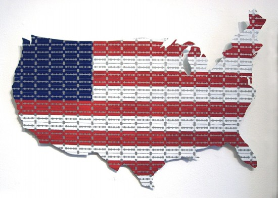 United States of America by Michele Pred