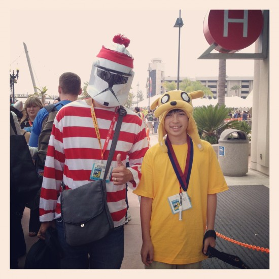 Where's Waldo Clone Trooper and Adventure Time