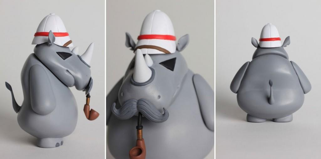 Frank Kozik's William remade by Cassidy WIngrove