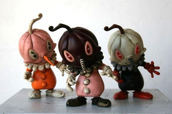 Stingy Jack (hand-painted customs) by Brandt Peters