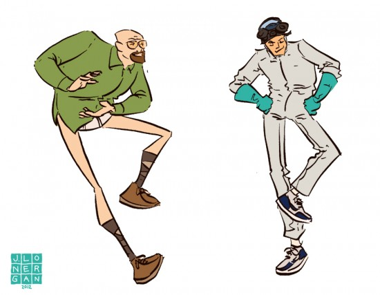 Breaking Bad Dancing by Jesse Longeran