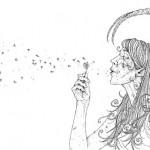Cody Schibi's Monstress with a Flower