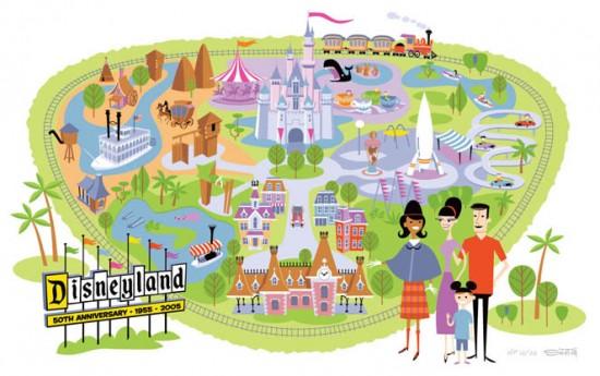 Disneyland map (2005)