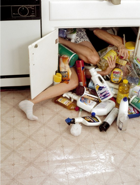 Cleaning Supplies by Lee Materazzi