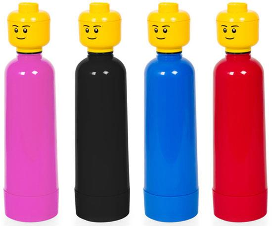 Lego Head Drinking Bottles