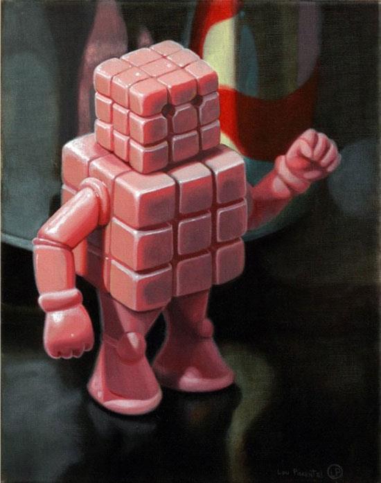 Cubeman by Lou Pimentel