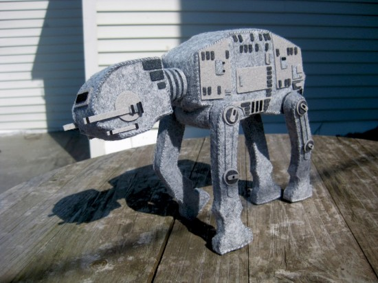 plush Star Wars AT-AT by Steff Bomb
