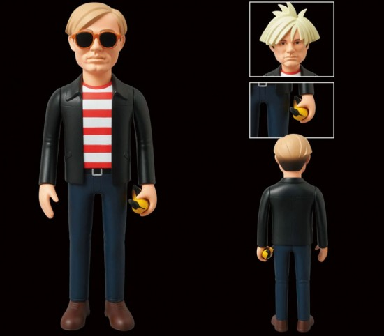 Andy Warhol Vinyl Collectible Doll by Medicom