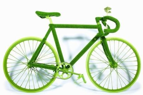 Botanical Bicycle by Makoto Azuma