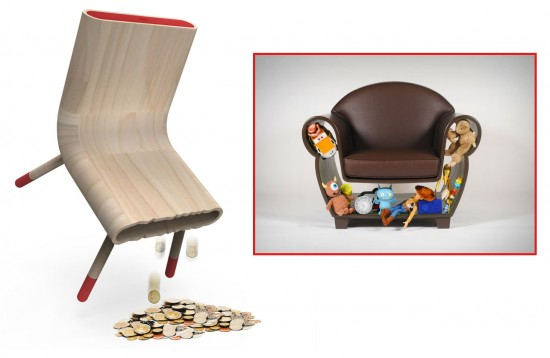 The Anti-Crise Chair by Pedro Gomes & the DIY Chair by Straight Line Designs