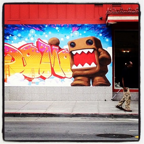 Domo Graffiti in San Francisco