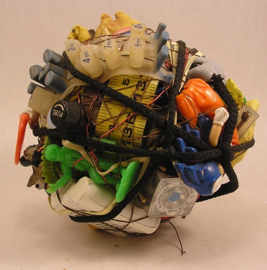 Junk art by Donald Edwards