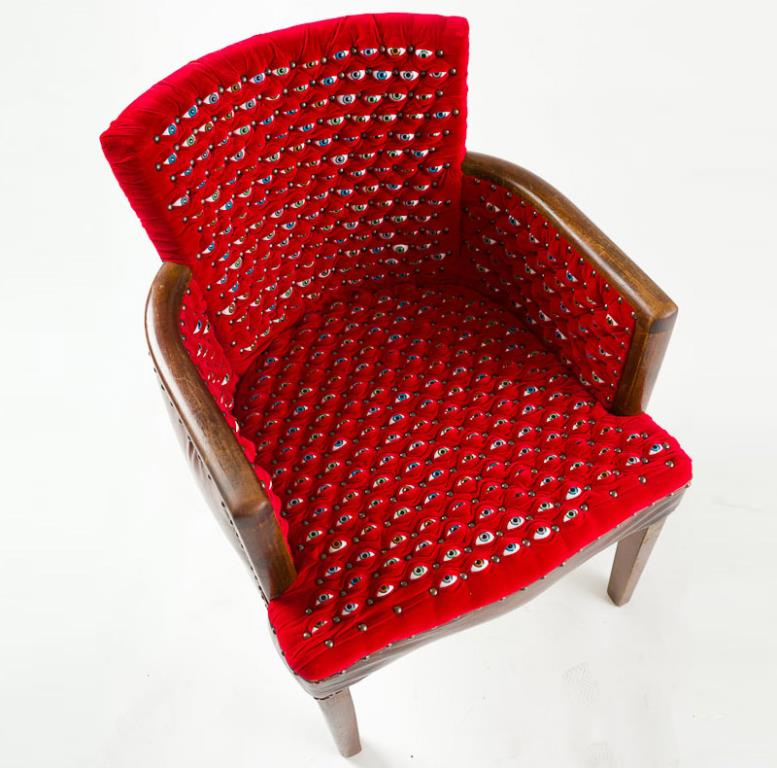 The Scopophillia Chair by Fiona Roberts