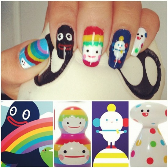 FriendsWithYou nail art by Samantha P