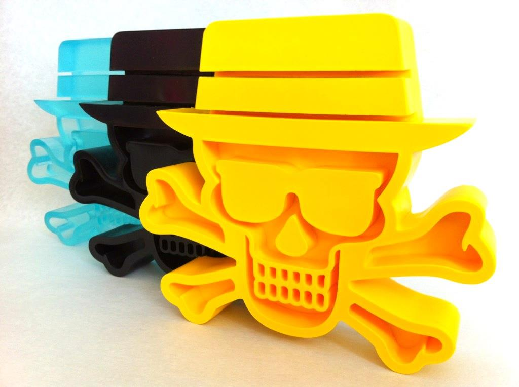Heisenberg Skulls by Tristan Eaton and Pretty in Plastic