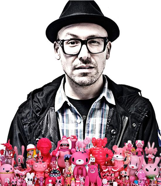 Selim Varol and pink toys