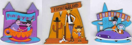 Disneyland pins (2005)