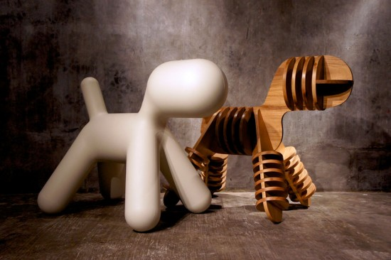 Stray by Jagnus Design Studio (based on Eero Aarnio's Magis Puppy Chair)