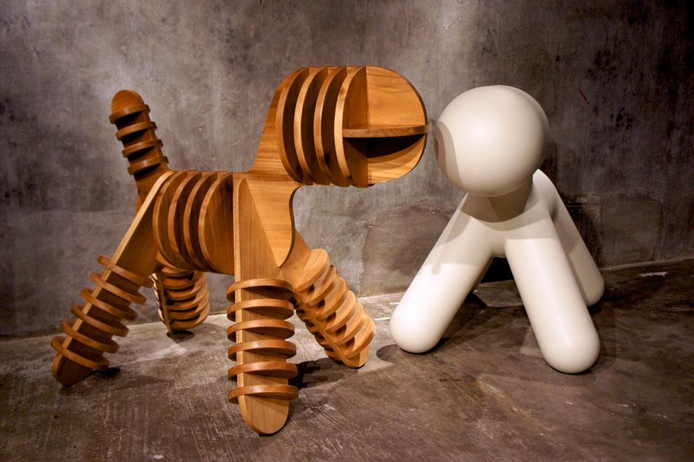 Filipino designers 39 customize 39 the magis puppy chair - Puppy eero aarnio ...