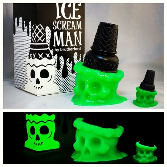 Toxic Taste Ice Scream Man Set by Brutherford Industries