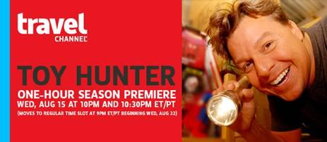 Toy Hunter on the Travel Channel